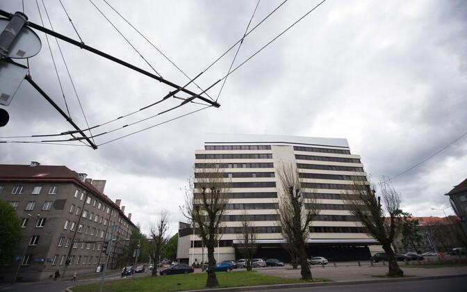 Здание МИД Эстонии в Таллинне.