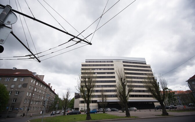 Eesti välisministeeriumi hoone Tallinnas.