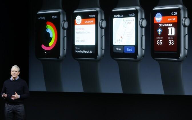 Apple'i nutikell ei osutunud kuigi populaarseks.