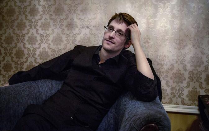 Edward Snowden Moskvas.
