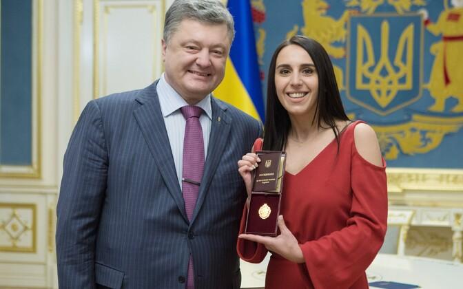 Petro Poroshenko ja Jamala