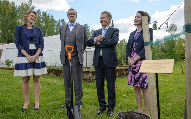 Soome president Sauli Niinistö käis just Eestis ametlikul visiidil.