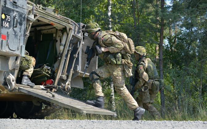 Taani sõdurid.