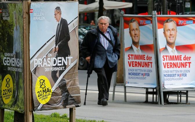 Valimisplakatid Austrias