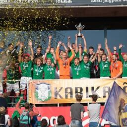 FC Flora alistas 2016. aasta Tipneri karikafinaalis lisaajal Sillamäe Kalevi.