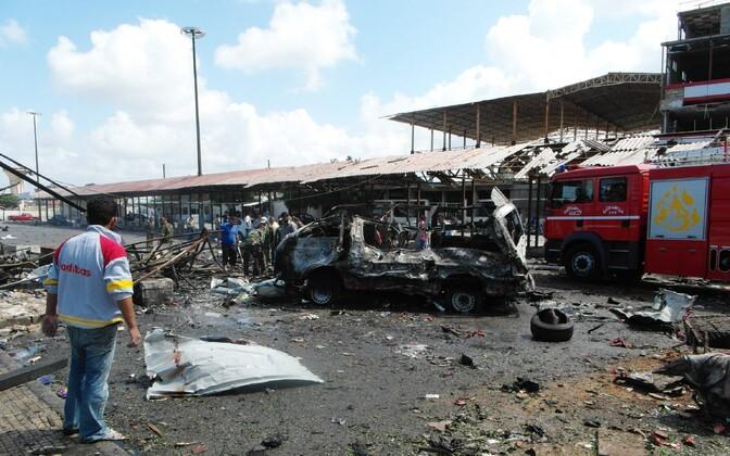 Jableh linnas toimunud rünnaku purustused
