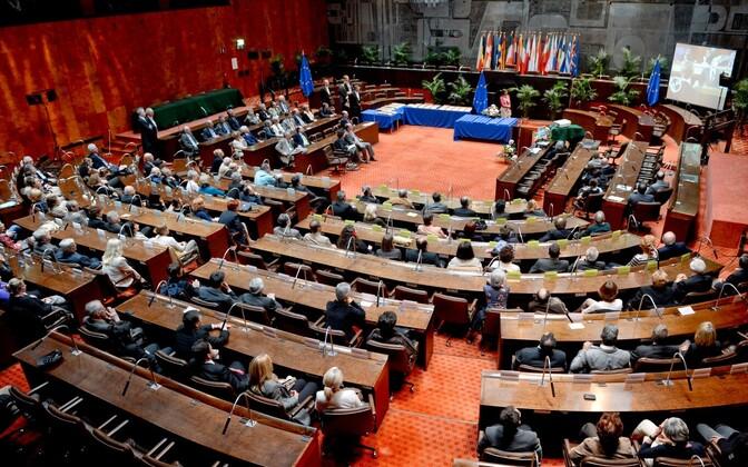 Europarlamendi saadikud Luksemburgis