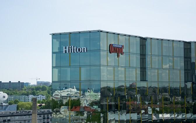 Olympicu kasiino Tallinna uues Hiltoni hotellis.