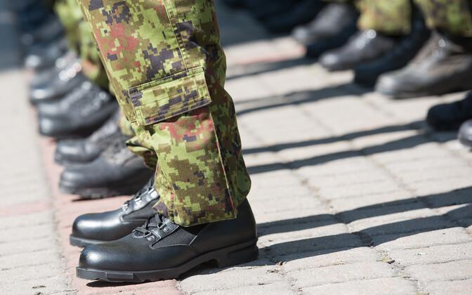 Солдаты. Иллюстративная фотография.
