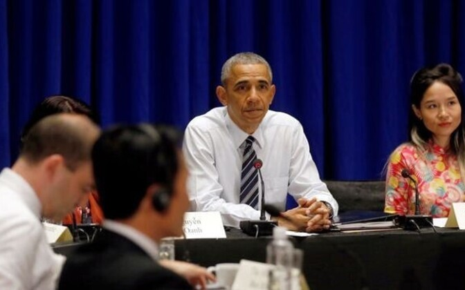 Obama kohtus Hanois kodanikuühiskonna liidritega