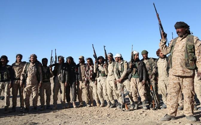 SDF-i võitlejad.