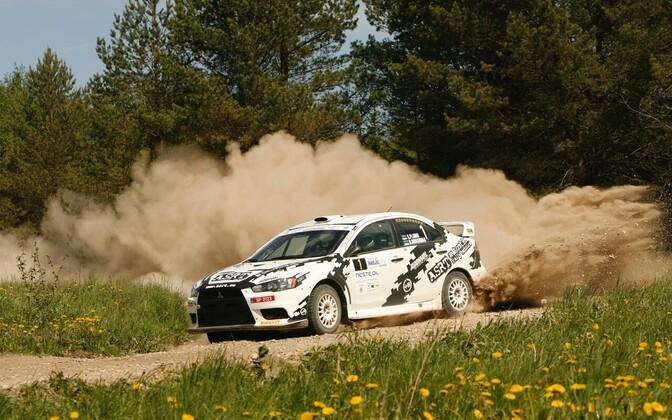 Siim Plangi - Urmas Roosimaa 2015. aasta Harju Rallyl