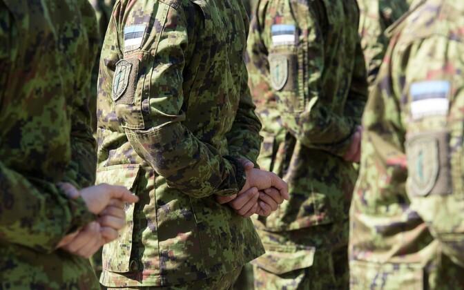 Estonian soldiers.