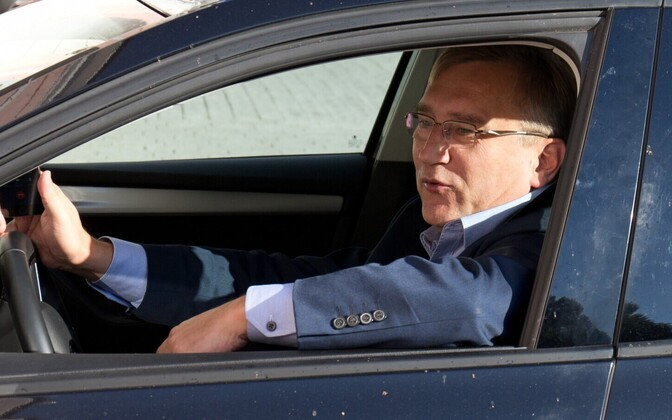 Riigikogu liige Juhan Parts (IRL).