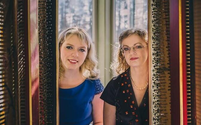 Klavessiiniduo Imbi Tarum ja Julia Ageyeva Hess