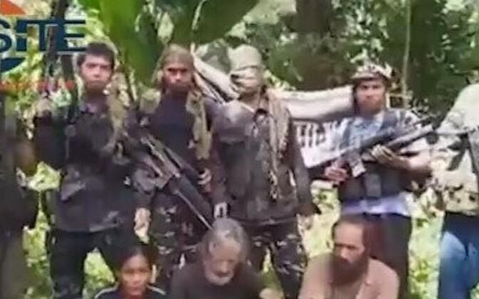 Stoppkaader Abu Sayyafi videost.