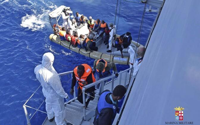 Päästeoperatsioon Vahemerel.