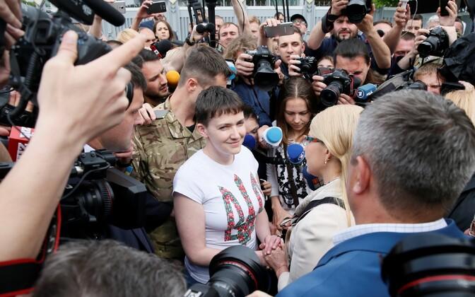 Nadia Savtšenko 25. mail tagasi Ukrainas.