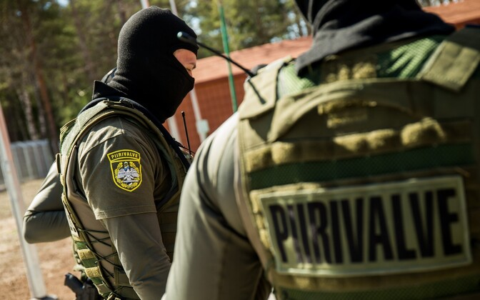 Эстонские пограничники. Иллюстративная фотография.