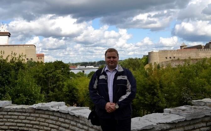 Журналист Родион Денисов.