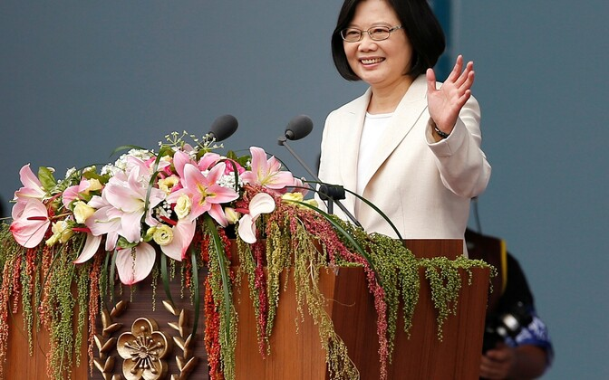 Taiwani president Tsai Ing-wen.