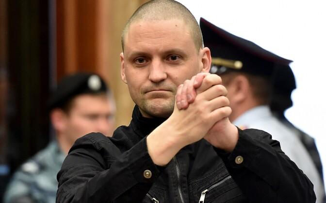 Vasak-äärmuslasest Vene opositsionäär Sergei Udaltsov