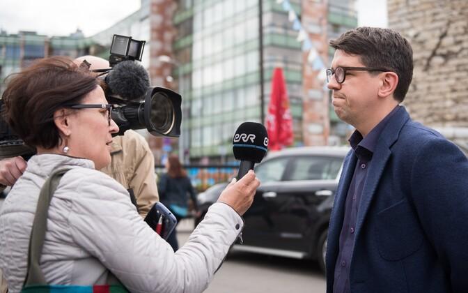 Riigikogu IRL-i fraktsiooni esimees Priit Sibul.