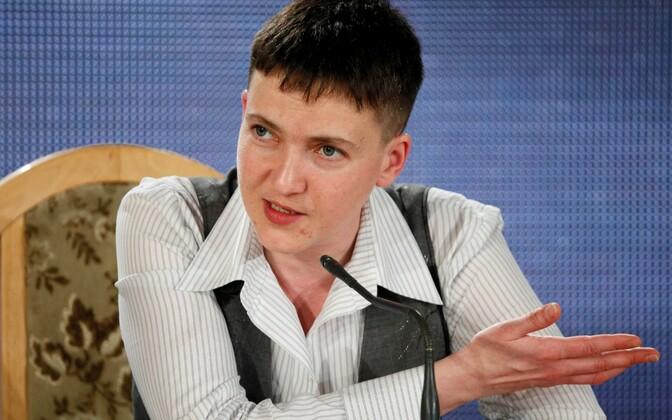 Nadia Savtšenko pressikonverents 27. mail.