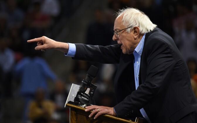 Vermonti senaator Bernie Sanders.