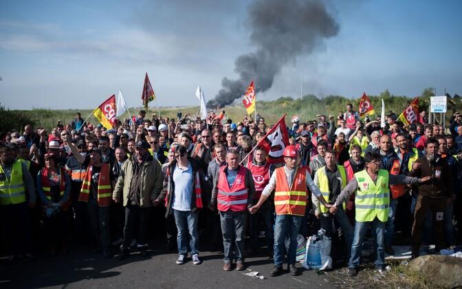 Streik Prantsusmaal.
