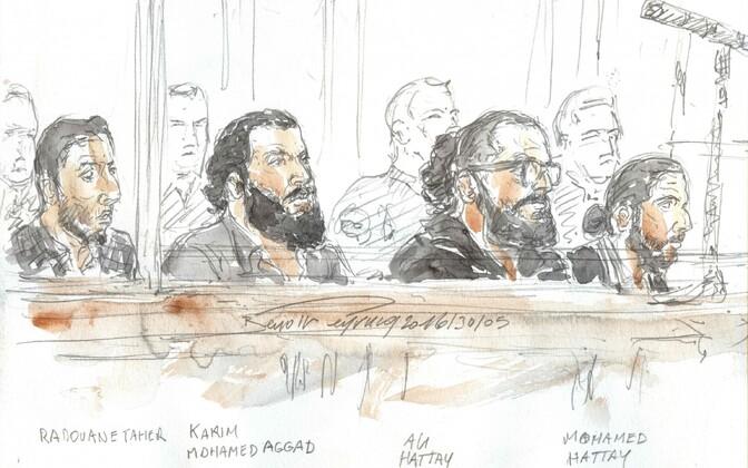 Sketš kohtualustest.