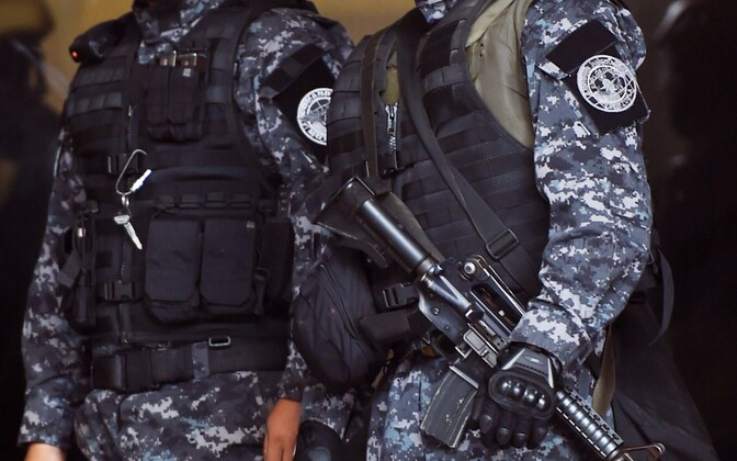 Venezuela politsei eriüksuslased.