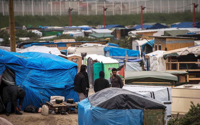 Migrandid Calais's.