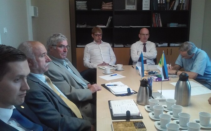 Allar Jõks kohtus täna EKRE fraktsiooniga.