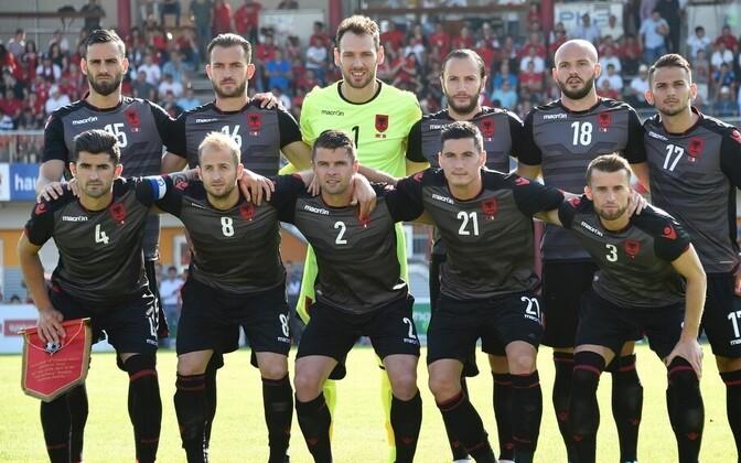Albaania jalgpallikoondis