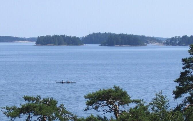 Sipoo saarestik.