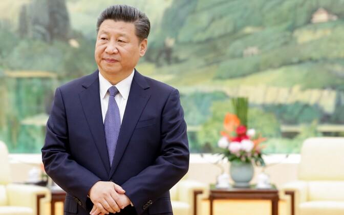 Hiina Rahvavabariigi president Xi Jinping.