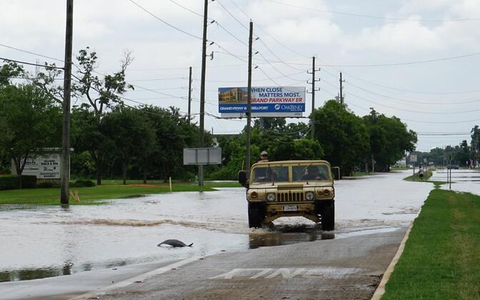 Üleujutus Texases.