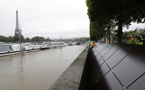 Seine' jõgi Pariisis.