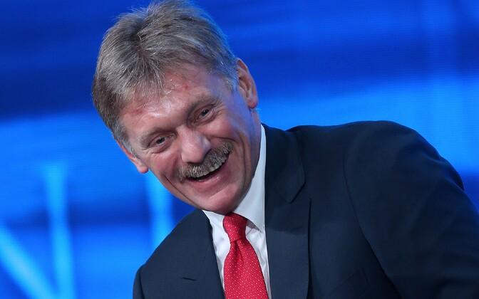 Venemaa presidendi pressiesindaja Dmitri Peskov.