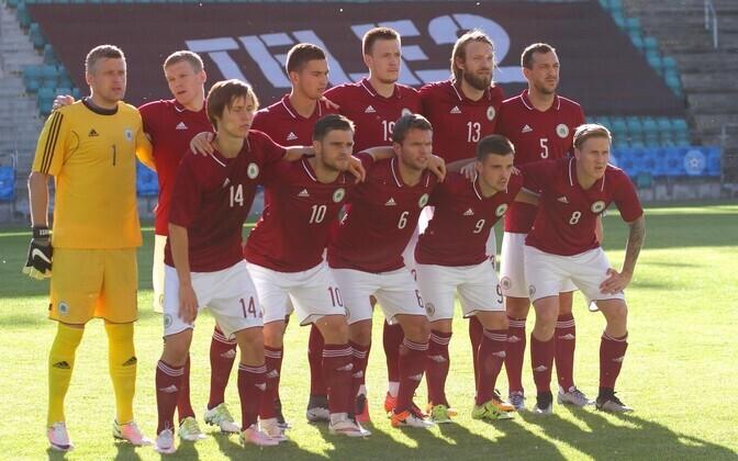 Läti jalgpallikoondis