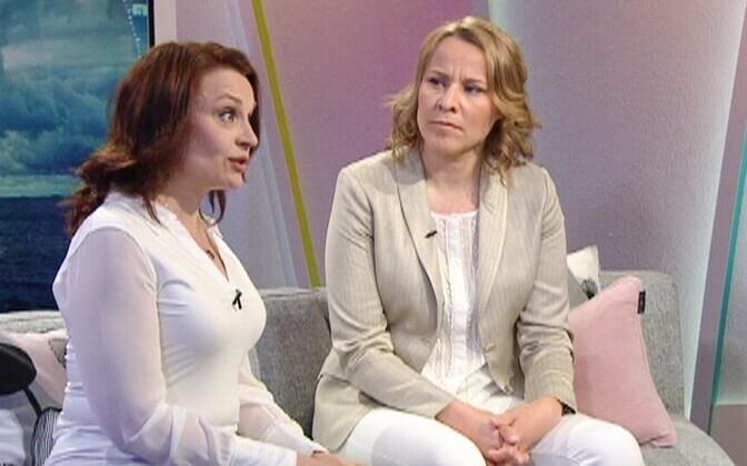 Kaija Kunnas ja Marjo Näkki