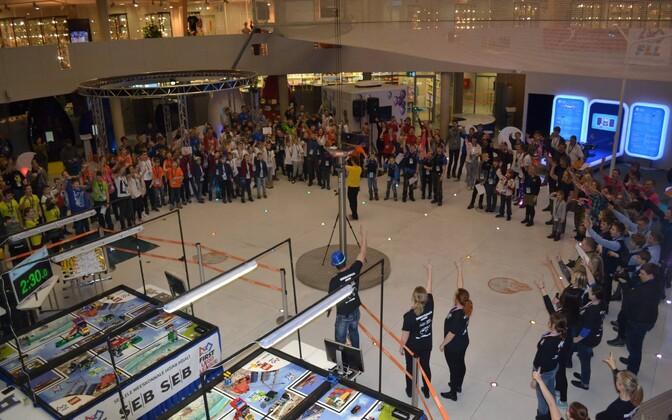 FIrs Lego League võistlus Eestis.