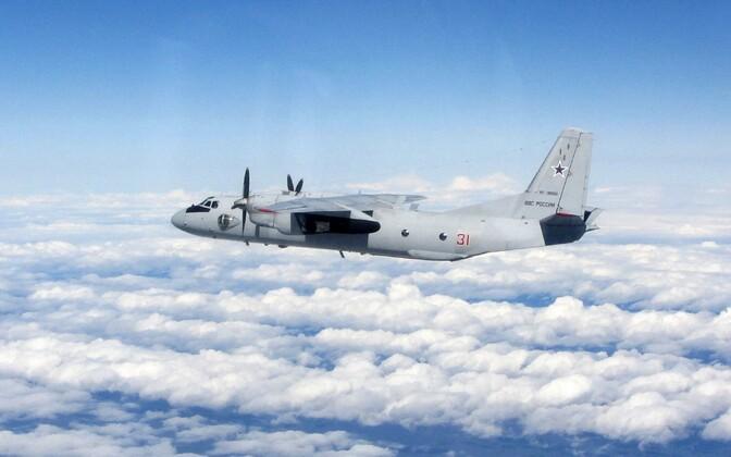 Venemaa relvajõudude transpordilennuk An-26.