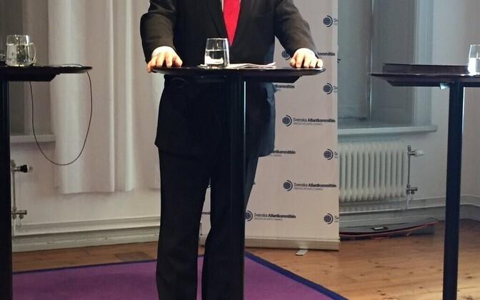 Rootsi kaitseminister Peter Hultqvist.