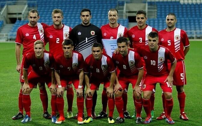 Сборная Гибралтара по футболу.