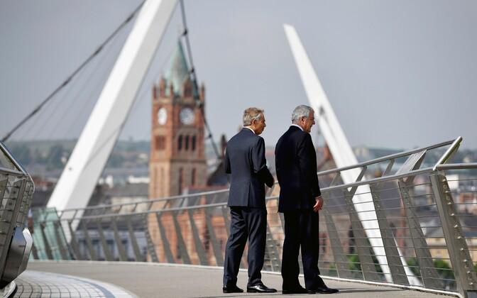 John Major (paremal) ja Tony Blair