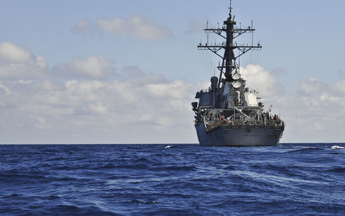 USA raketiristleja USS Porter (DDG 78).