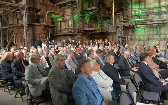Keskerakonna volikogu kogunes viimati juunikuus Kultuurikatlas