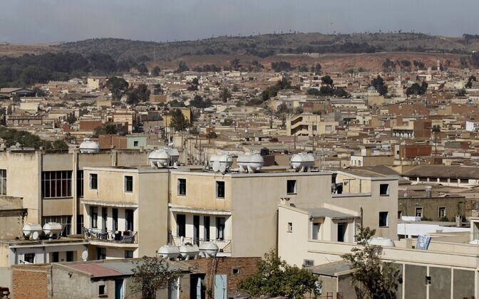 Vaade Eritrea pealinnale Asmarale.